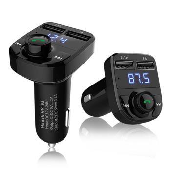 長江雙USB車用免持藍牙MP3播放器HD5