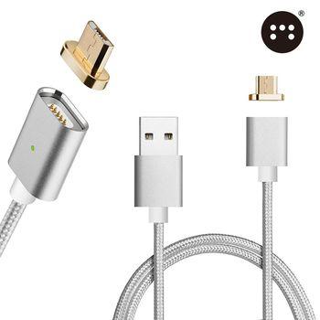 原裝Moizen㊣ 金屬接頭 Micro USB接頭 磁吸充電線 傳輸線 磁力充電線