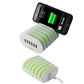 6孔USB輸出充電器(5V/7A)