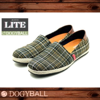 【Dogyball】JB5 城市微旅行 便走帆布懶人鞋 黑色