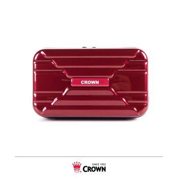 《Traveler Station》CROWN 皇冠 C-B1568 盥洗包 紅色