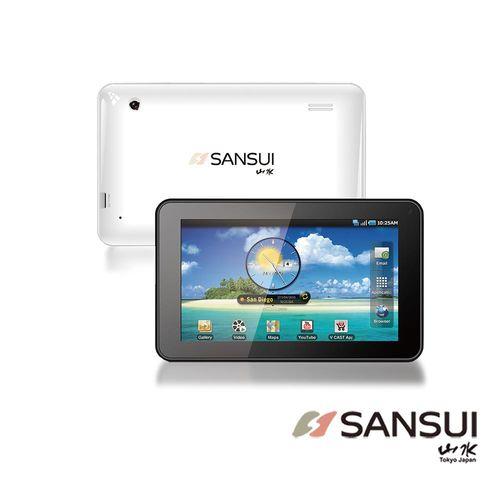 【SANSUI山水】7吋平板電腦/Wi-Fi/16G/雙鏡頭(TP766)