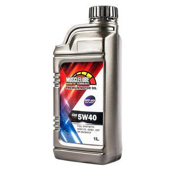 MUSCLELUBE 美國肌肉5W40全合成機油 添加MT-10 1L/瓶
