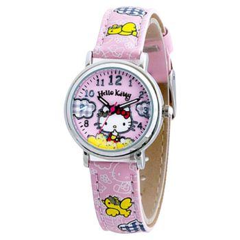 HELLO KITTY 凱蒂貓 鳥寶寶腕錶-29mm HKFR1222-01A