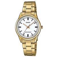 【CASIO】 經典復古輕巧指針日期腕錶-羅馬白面 (LTP-V005G-7A)