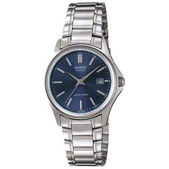 【CASIO】 城市時尚雅緻淑女腕錶-羅馬藍面 (LTP-1183A-2A)
