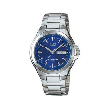 【CASIO】 經典復古型指針紳士錶-羅馬藍面 (MTP-1228D-2A)