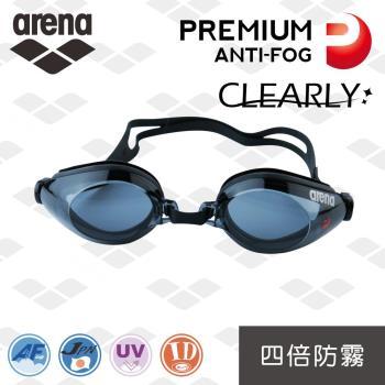 【日本製】arena 超強防霧泳鏡 AGL540PA 訓練款 四倍防霧 防水 高清 大框 泳鏡 男女適用 官方正品