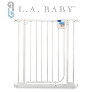 L.A. Baby 加高加寬自動上鎖兒童門欄/柵欄/圍欄(贈兩支延伸片)