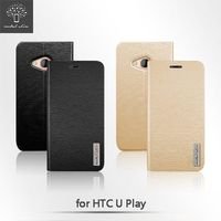 Metal-Slim HTC U Play 流星紋TPU內層側翻站立皮套