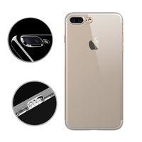 水漾 iPhone7 Plus (5.5吋)一體全包式帶防塵塞透明TPU手機軟殼
