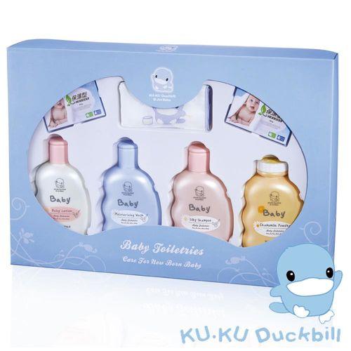 KU.KU酷咕鴨-嬰兒沐浴禮盒(1062)