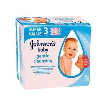 Johnsons嬌生 嬰兒濕紙巾/潔膚濕巾(56x3包x3)