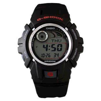 【CASIO】G-SHOCK 世界時間記憶賽車錶-黑 (G-2900F-1)