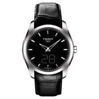 TISSOT Couturier 建構師系列 Date時尚腕錶-黑/39mm T0354461605100