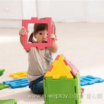 【Weplay 身體潛能館】創意互動 - 巧巧積木組 - 校園組 6800KC3002