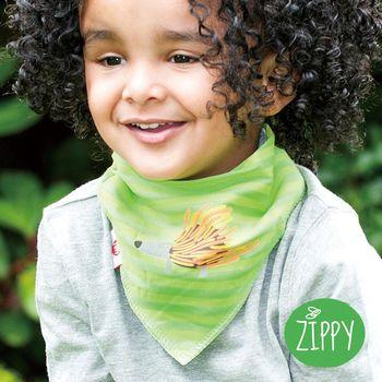 任-英國Zippy-幼兒時尚口水巾-刺蝟