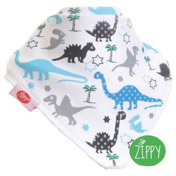 英國Zippy-幼兒時尚口水巾-恐龍世界