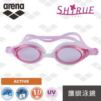 【日本製】 arena  休閒款 AGL9400 女士 時尚 泳鏡 防霧 防紫外線  防水