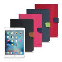 【台灣製造】MyStyle Apple iPad Air 2 / iPad 6 甜蜜雙搭支架側翻皮套
