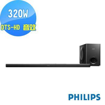 PHILIPS 飛利浦 NFC/aptX 家庭劇院喇叭 HTL7140B/12-福利品