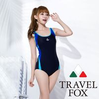 【夏之戀TRAVEL FOX】大女運動型連身三角泳C16703