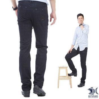 【NST Jeans】380(5533) 低調公爵查理 英式復古單寧長褲(中低腰窄版)