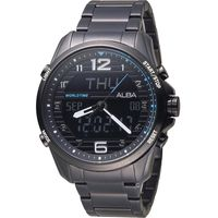 ALBA 雅柏 玩轉時尚雙顯計時腕錶 N021-X004SD  AZ4023X1