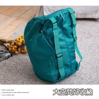 旅行收納三用背包-綠