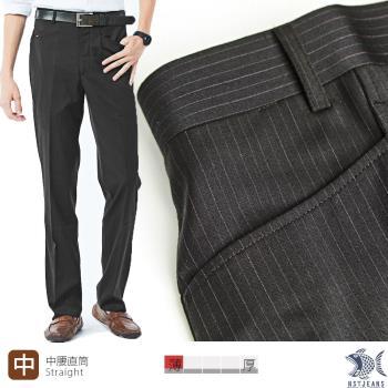 【NST Jeans】391(6939) 时尚优雅 L口袋 羊毛西装裤(中腰) 平面/无打折/年轻款/笔挺/免烫