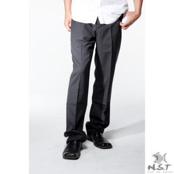 【NST Jeans】391(6936) 黑生弹力系列 羊毛西装裤 (中腰) 平面/无打折/年轻款式