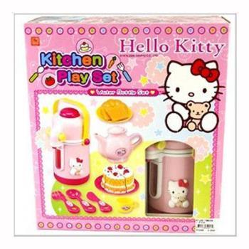 【 Hello Kitty 凱蒂貓】家家酒系列 - KT 茶具組 KT2017
