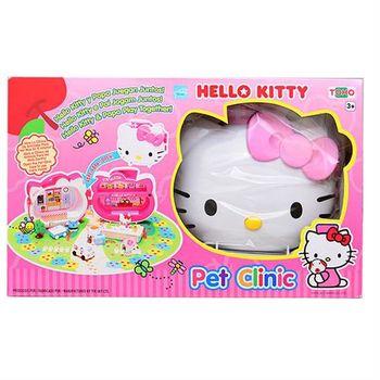 【 Hello Kitty 凱蒂貓】熱門系列 - KT 手提寵物診所 KT18044