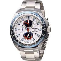 SEIKO 精工 PROSPEX 兩地時間太陽能腕錶 V195-0AB0S  SSC485P1