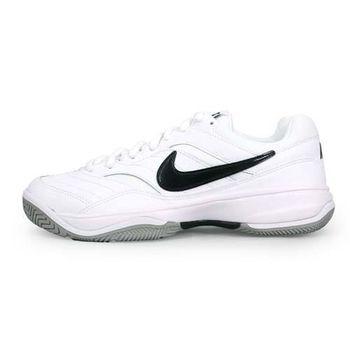 【NIKE】COURT LITE 男網球鞋 白黑