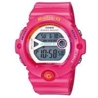 【CASIO】BABY-G 繽紛多彩慢跑女孩新主張休閒運動錶-桃紅 (BG-6903-4B)