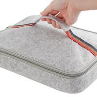 PUSH! 餐具用品保溫飯盒便當盒保溫提袋1入(小號)