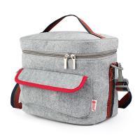 PUSH! 餐具用品保溫飯盒便當盒保溫提袋1入(超大號)