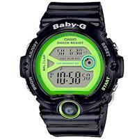 【CASIO】BABY-G 熱血女孩繽紛果凍系列運動錶-黑X灰面 (BG-6903-1B)