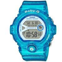 【CASIO】BABY-G 熱血女孩繽紛果凍系列運動錶-藍色 (BG-6903-2B)