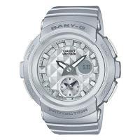 【CASIO】BABY-G 魅力無限時尚穿搭鉚釘風格休閒錶-銀色 (BGA-195-8A)