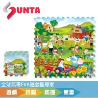 《SUNTA拼接樂扣墊》開心農場 EVA樂扣遊戲墊-32*32*1cm(9片裝)