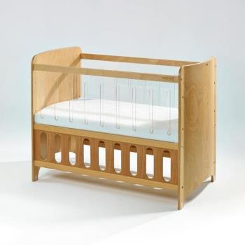Bendi I-LU Clean透明多功能嬰兒床-中床優惠組(床組+床墊+床圍+蚊帳)