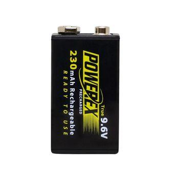 【MAHA-POWEREX】9V 低自放充電池MHR9VP(230)