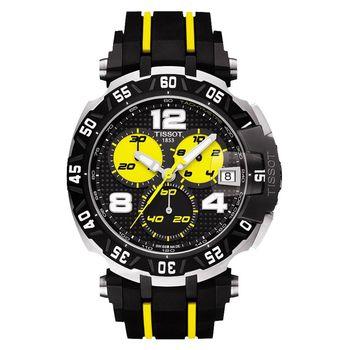 TISSOT T-RACE THOMAS LUTHI 2015 計時限量腕錶-45mm T0924172705700