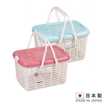 CielCiel 日本進口多用途置物箱(紅/藍 顏色隨機) IN-D251