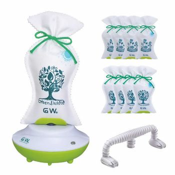 GW水玻璃分離式熱風除濕袋組