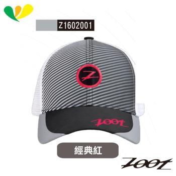 ZOOT COOLMAX反光型時尚網帽 跑帽(男女適用) Z1602001(經典紅)