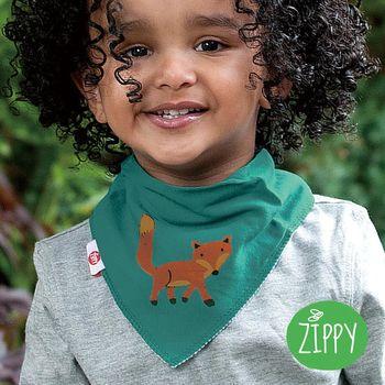 英國Zippy-幼兒時尚口水巾-小狐狸