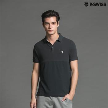 K-Swiss Jacq/Jersey Polo短袖POLO衫-男-深墨綠